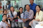 HHQ et HTT avec victimes de la dioxine . Tournage 2011